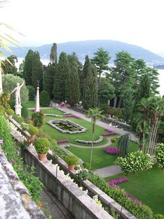 Isola Bella, Italian Lake District, Italy  with Karen: 2011