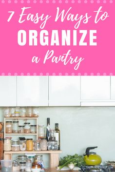 Do you need help putting your kitchen pantry in order?Looking for a few simple ways to get things organized without spending a single dime? Organizing a pantry may seem like a daunting task. The good news, however, is that there are several existing organizational structures in your pantry that you can use to your advantage. Pin now and read later!
