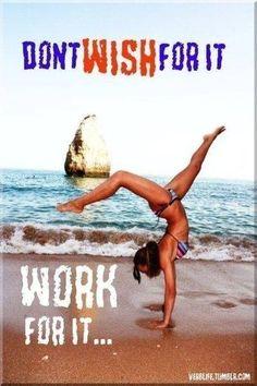 Hard work=results!