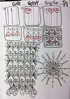 I found a photo on the internet of a pattern on a wrought-iron gate. And came up with this grid-based deconstruction for your enjoyment. Please feed-back to me? Is there another pattern like this a…