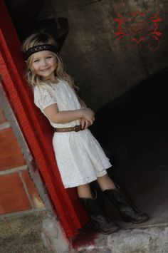 Children Photography Country barn boots