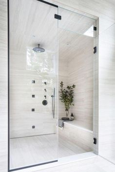 Luxurious Tile Shower Design Ideas For Your Bathroom Bathroom Pictures, Marble Showers, Shower Doors, Modern Bathroom, Luxury Bathroom, Bathrooms Remodel, Bathroom Design, Bathroom Decor, Shower Design