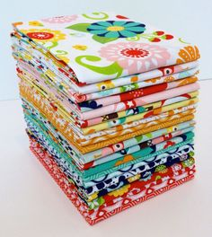 Riley Blake LAZY DAY Fat Quarter Bundle by VintageModernFabrics, $52.00