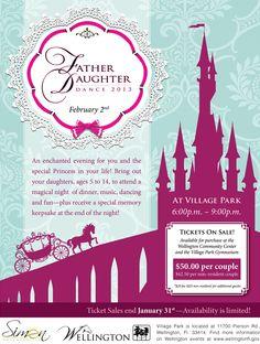 father daughter dance invite - Google Search