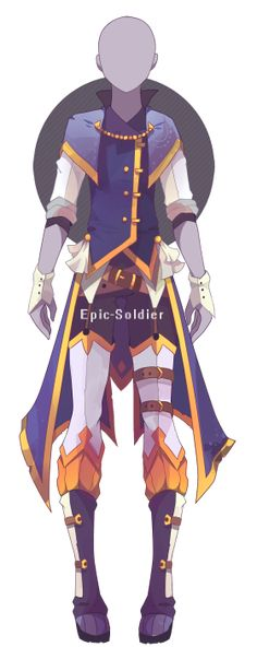 Custom outfit commission 27 by Epic-Soldier.deviantart.com on @DeviantArt