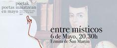 """Dentro del programa """"Poetas en mayo"""", se desarrolló el pasado sábado día 6 de mayo, a las 20:30h, en la ermita de San Martín (Vitoria-Gasteiz) la actividad titulada """"Entre místic…"""