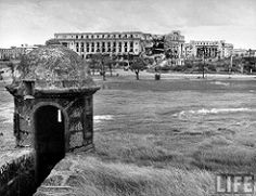 War torn Finance and Commerce Buildings from the Old Spanish wall of Intramuros, Manila, Philippines, July 1946 .jpg | Flickr - Photo Sharing!