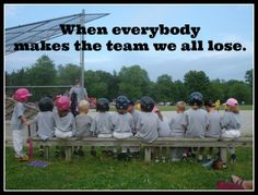 Agree or disagree: there should be a clear winner and loser in kids' sports? @This Uncomplicated Journey