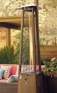 Easily warm your outdoor parties this fall with the Empire Patio Heater that can efficiently heat a large 360 degree area.