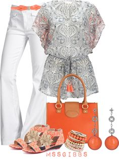 """Pretty Kaftan"" by mssgibbs on Polyvore"