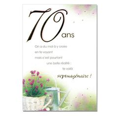 70 e anniversaire de naissance