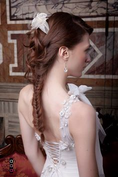 for Gian Luca Troiani Lace Wedding, Wedding Dresses, Fashion, Bride Dresses, Moda, Bridal Wedding Dresses, Fashion Styles, Weeding Dresses, Weding Dresses