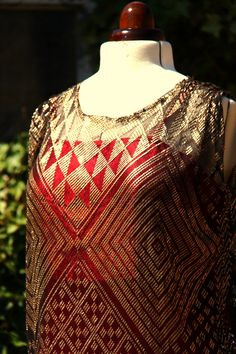Gorgeous vintage Assiut tunic dress Semi Formal Wedding, Flapper Era, Beautiful Outfits, Beautiful Clothes, Women Wear, Ladies Wear, Indian Embroidery, 20s Fashion, 1920s Dress