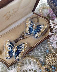 #butterfly #embroidery #hautecouture #lunevilleembroidery #coutureembroidery #вышитыеукрашения