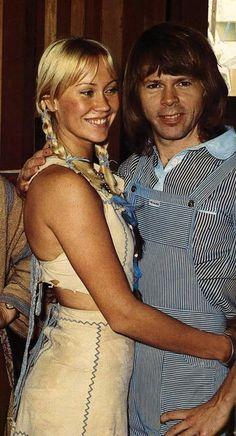Anna with Björn