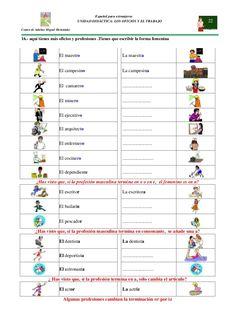 Resultado de imagen para diferencia entre oficios y profesiones para niños