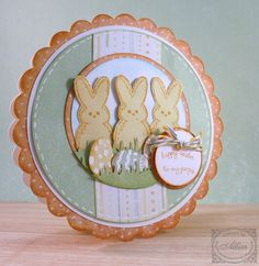 Rocky Mountain Paper Crafts: My Peeps Easter Card