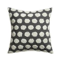 """Hob Nail 23"""" Pillow with Down-Alternative Insert  