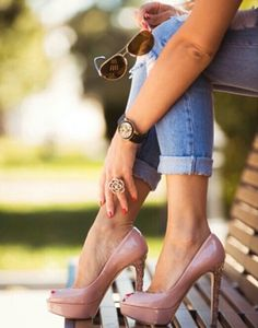 Nude shoes♥