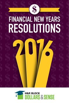 It's a New Year and with it come New Year's resolutions. Here are three financial New Year's resolutions your teen can make-- and actually keep!