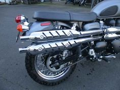 Used 2013 Triumph Scrambler Standard Motorcycles For Sale in Oregon,OR. 2013 Triumph Scrambler Standard, Retro 865cc Scrambler high piper..parallel-twin , fuel injection..Classic styling legend 2013 Triumph Scrambler Our latest fuel injected, air-cooled 865cc parallel-twin, reworked with different timings for that distinctive exhaust note from those classy high swept chrome pipes. Fork gaiters. An accessible ride that's easy and relaxed. What it's always been. Only better. Scrambler. A sense…