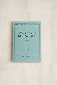 HIGHTIDE - 2017 Porche Diary - Weekly Horizontal - A6 (11x15cm) - Soft Cover - Mint