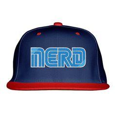 Sega Nerd Embroidered Snapback Hat