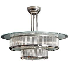 Art-deco Chandelier | From a unique collection of antique and modern chandeliers and pendants  at http://www.1stdibs.com/furniture/lighting/chandeliers-pendant-lights/