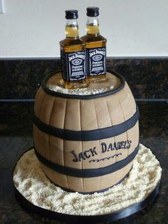 Groom cake, which would have Adam's favorite beer...?? I like the idea, but not sure it fits Adam. M2