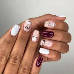100 Long Nail Designs 2019 Ideas in our 100 Long Nail Designs 2019 Ideas in our App. New manicure ideas for long nails. Trends 2019 in nails nail design New manicure ideas for long nails. Trends 2019 in nails nail design Long Nail Designs, Nail Art Designs, Nails Design, Aztec Nail Designs, Aztec Nail Art, Geometric Nail Art, Stylish Nails, Trendy Nails, Love Nails