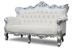 Belle de Fleur French Love Seat, fabulous and baroque, unique kids furniture, luxurious childrens furinture, unique from 2 Sweet Sisters. Saved to grunge.