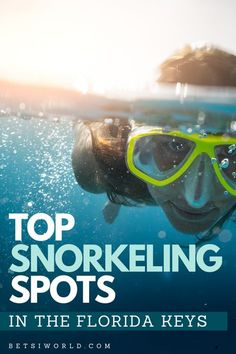 Top Snorkeling Spots in the Florida Keys | Thinking about traveling to the Florida keys? These snorkeling companies are perfect to add to your Florida travel plans. Whether you are taking a family vacation or planning a romantic getaway to Florida this adventurous outdoor activity is fun for everyone of all ages. For more Florida travel, things to do in Florida, activities while traveling, and romantic travel destinations, read BETSIWORLD.COM #travel #florida #snorkeling Places In Florida, Florida Vacation, Florida Travel, Florida Keys, Travel Usa, Vacation Spots, Vacation Ideas, Destin Beach, Beach Trip
