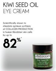 Trying the Antipodes eye cream out at the moment.... lovely.