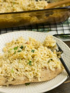 Lazy Chicken And Rice Casserole Recipe