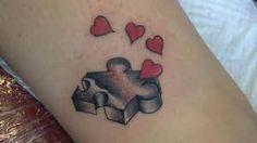 Znalezione obrazy dla zapytania tatuaże 3d puzzle