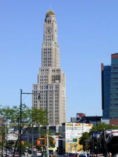 The Williamsburgh Savings Bank, or One Hanson Place, is the tallest building in the borough of Brooklyn, New York City and a familiar Brooklyn landmark.
