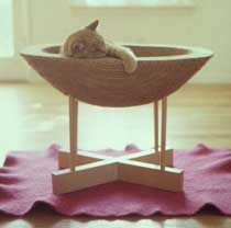 Awwwww . .  . Kitty Pod from Twentieth Art & Design