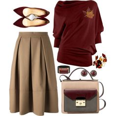 """October Chic"" by feelgood35 on Polyvore"