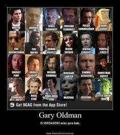I love Gary Oldman as Sirius Black in Harry Potter, and James Gordon in the Dark Night cronicles. Gary Oldman, Black And White Nail Designs, Geek Movies, Bram Stoker's Dracula, Tim Roth, Poster Boys, True Romance, Skinhead, Many Faces
