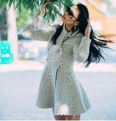 Crochet coat — Crochet by Yana