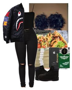 """"""""""" by adavik ❤ liked on Polyvore featuring Boohoo and Timberland"""