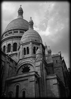 La basilique du Sacré-Coeur de Montmartre, Paris (L. McPhee)