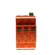 38.29$  Watch now - http://ali6kf.shopchina.info/go.php?t=32392811156 - SSPD Surge Protector DC 1000V 20KA/3P Surge Arrester for PV System  II Classified Test UP 3.2KV 10mm Stripping Length 2015 NEW  #shopstyle