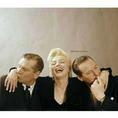 Marilyn with Laurence Olivier & Terence Rattigan. By Milton Greene, 1956. #MarilynMonroe #NormaJeane #Hollywood #classic #vintage #1950s #OldHollywood #1960s #immortal #instacool #instadaily #instalike #l4l #s4s #icon #idol #Marilynette #Manroes #MM