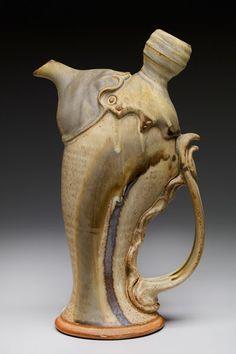 Pottery Teapots, Ceramic Teapots, Ceramic Pottery, Pottery Art, Pottery Tools, Ceramic Decor, Ceramic Pitcher, Ceramic Cups, Pottery Painting