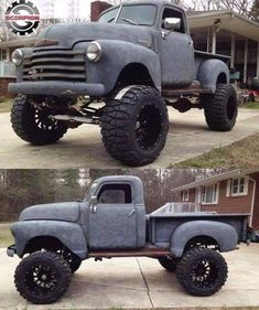 trucks chevy old Gm Trucks, Lifted Trucks, Cool Trucks, Pickup Trucks, Lifted Ford, Small Trucks, Carros Vw, Hors Route, Classic Chevy Trucks