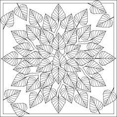 Don't Eat the Paste: Birch Leaves Mandala