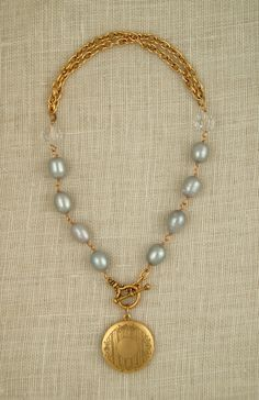 Freshwater Pearl Necklaces on Pinterest | Cultured Freshwater ...
