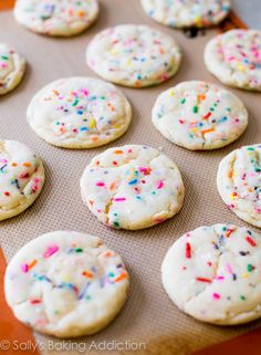 Easy Soft-Baked Funfetti Sugar Cookies