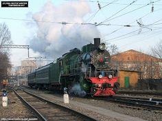 transpress nz: Russian steam locomotives